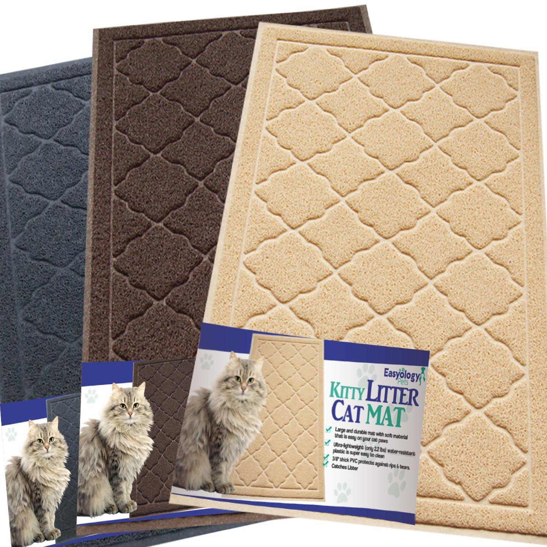 Easyology Cat Kitty Litter Box Mat Review