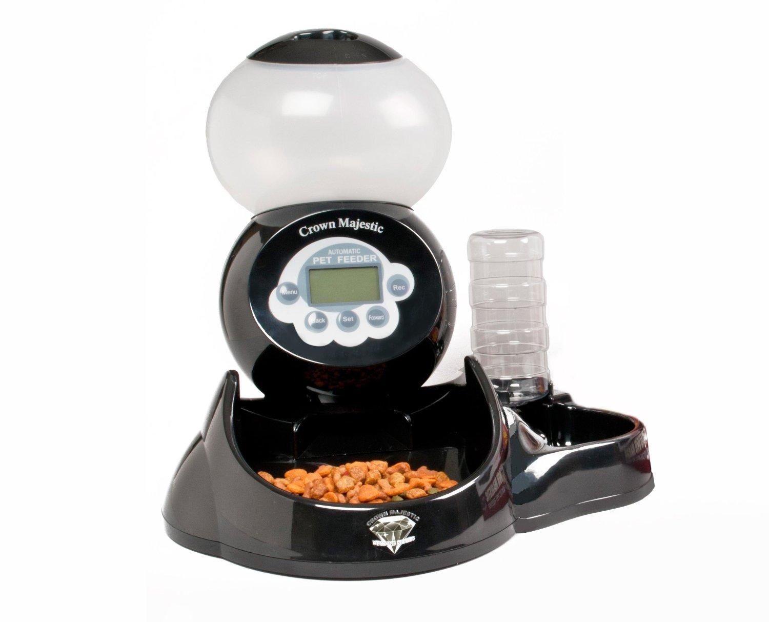 vcr pet timed projects make cat feeder