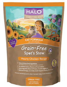 Halo Spot's Stew cat food reviews