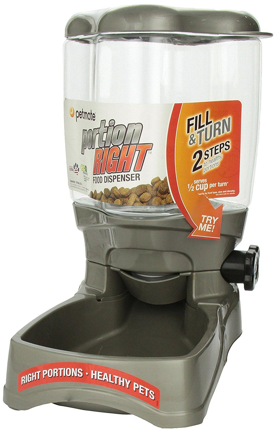 petmate portion right feeder review must read rh bestselfcleaninglitterbox com Le Bistro Feeder petmate automatic pet feeder manual
