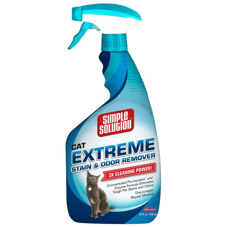 best cat spray remover